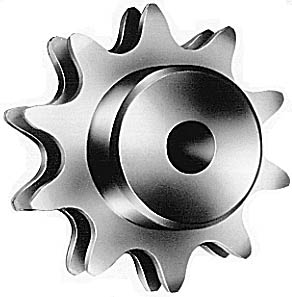 Figure 5.7 Specialized 10-Tooth Sprocket for Use with Double Plus Chain